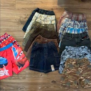 Other - 14 piece toddler shorts bundle